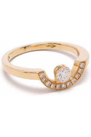 Loyal.e Paris Recycled 18kt yellow Intrépide Petit Arc diamond ring