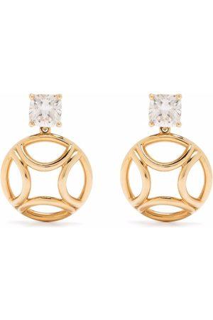 Loyal.e Paris Recycled 18kt yellow Perpétuel diamond drop earrings