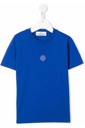 Stone Island Graphic-print cotton T-shirt