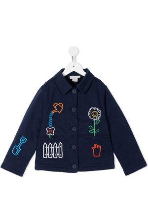Stella McCartney Garden embroidered jacket