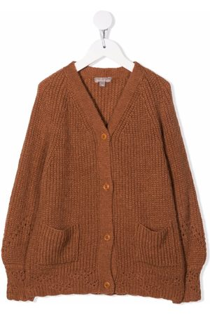 Emile et ida V-neck knit cardigan