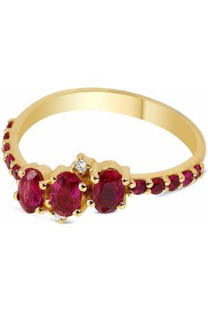GFG Jewellery 18kt yellow Seraphina ruby ring