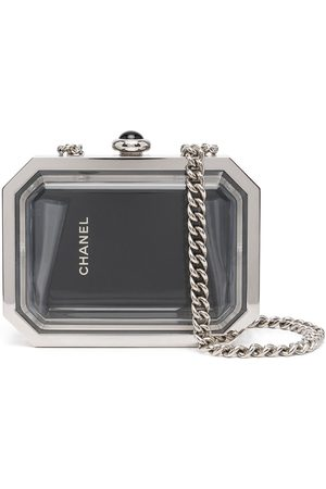 CHANEL 2015 limited edition Premiere Watch Minaudiere clutch