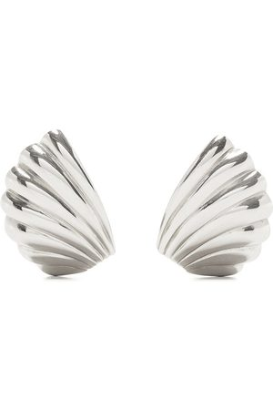 Givenchy Pre-Owned 1980-1990s shell clip-on earrings
