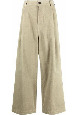 SOFIE D'HOORE High-waisted pleat-detail palazzo trousers