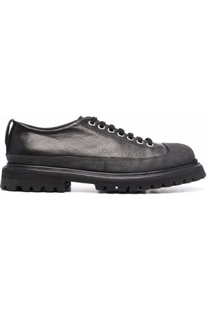 Premiata Low-top lace-up leather trainers