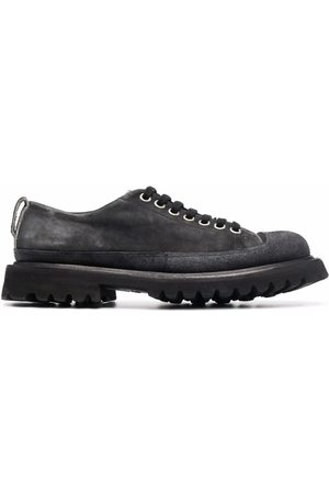 Premiata Lace-up suede trainers