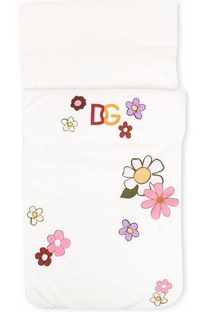 Dolce & Gabbana Floral-print cotton sleep bag