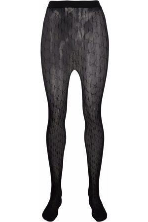 Karl Lagerfeld K monogram pattern tights
