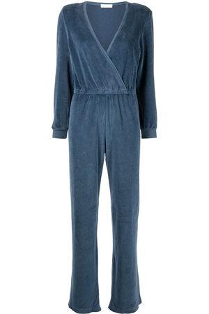 Suzie Kondi Velour V-neck jumpsuit