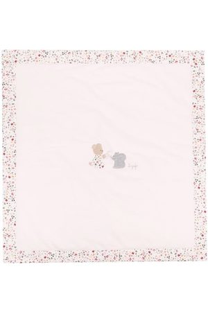 Il gufo Teddy Bear fleece cot blanket