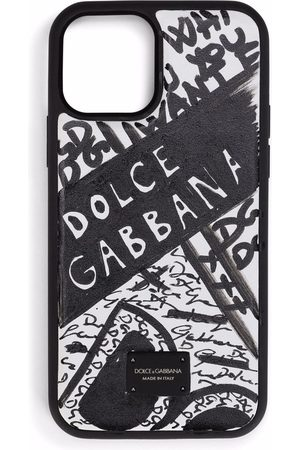 Dolce & Gabbana Scribble logo print phonecase