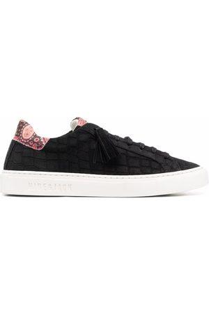 HIDE&JACK Crocodile-effect Tassel sneakers