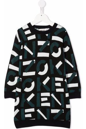 Kenzo Logo print dress