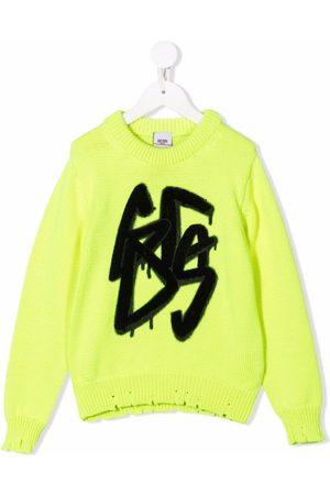 GCDS Graffiti print jumper