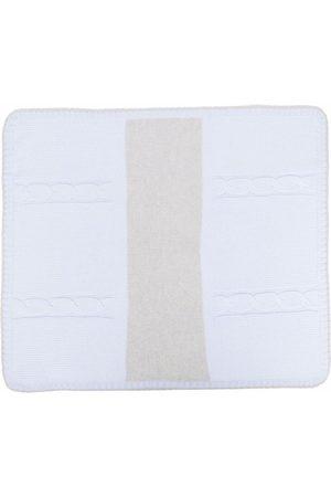 LA STUPENDERIA Striped cashmere blanket