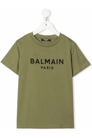 Balmain Logo-print round-neck T-shirt