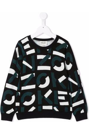 Kenzo Boys Sweatshirts - Logo print sweatshirt