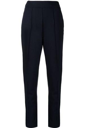 Emporio Armani Women Skinny Pants - Logo print trousers