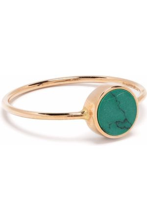 GINETTE NY 18kt yellow Mini Ever turquoise ring