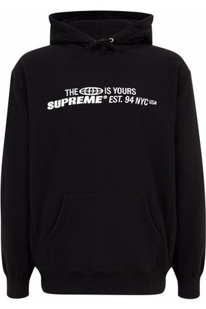 Supreme The World is Yours printed hoodie