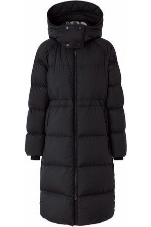 Burberry Detachable-hood mid-length coat