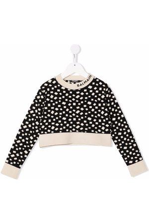 Balmain Geometric print sweatshirt