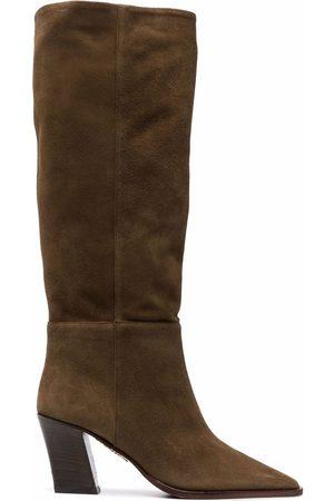 Aquazzura Matisse 70mm knee-high boots