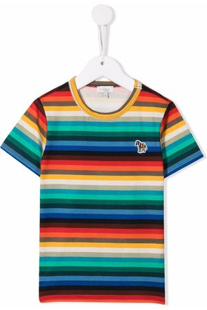 Paul Smith Patch striped T-shirt