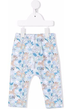 Kenzo Jungle print trousers