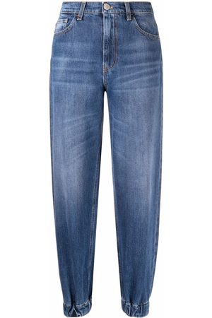 Pinko Mid-rise tapered jeans