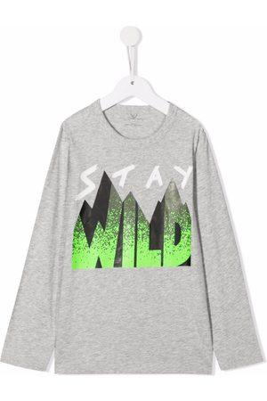 Stella McCartney Stay Wild print T-shirt
