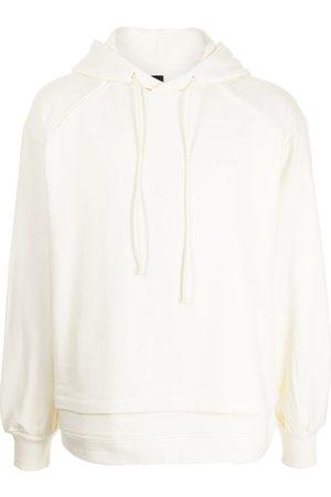 JUUN.J Layered cotton hoodie