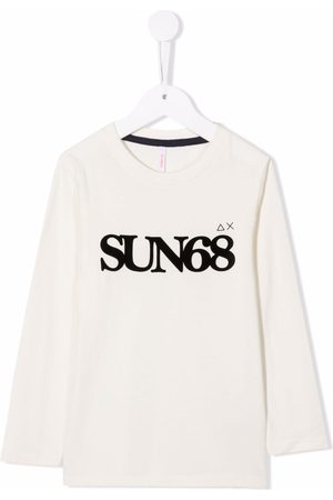 sun68 Logo-print long-sleeve T-shirt