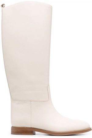 12 STOREEZ Knee-length leather boots
