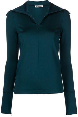 Jil Sander Zip-fastening long-sleeve top