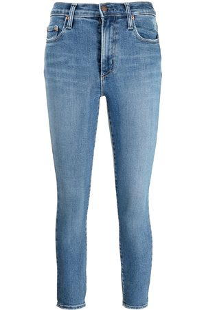 NOBODY DENIM Cult high-waisted skinny jeans