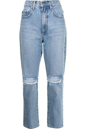NOBODY DENIM Hutton high-rise straight-leg jeans