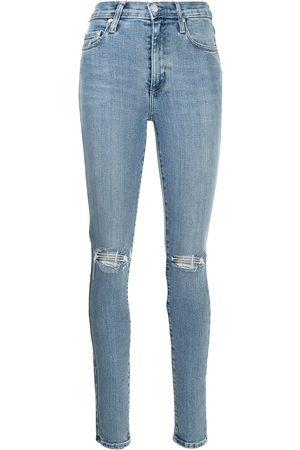 NOBODY DENIM Cult high-rise skinny jeans