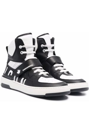 Dsquared2 TEEN panelled high-top sneakers