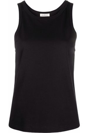 There Was One Sleeveless jersey tank top
