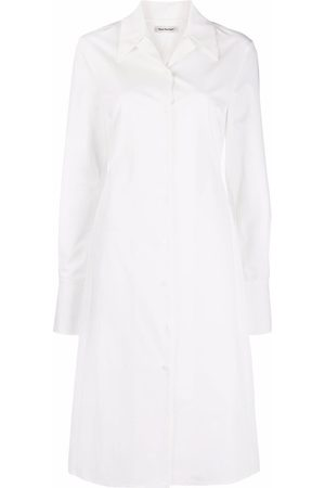 There Was One Poplin mid-length shirtdress