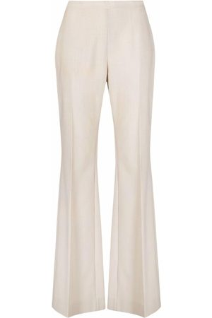 There Was One High-waisted flared-leg trousers