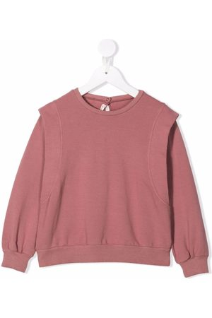 Zhoe & Tobiah Layered rib-trimmed sweatshirt