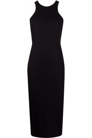 There Was One Ribbed jersey tank midi dress