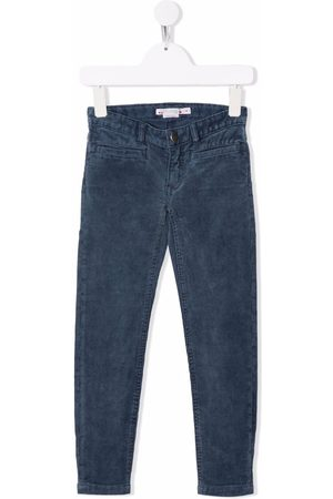 BONPOINT Girls Skinny Pants - Twiggy slim corduroy trousers