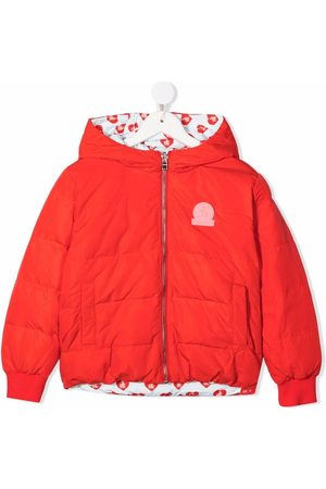 Lanvin Heart print reversible bomber jacket