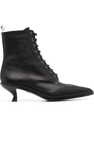 Thom Browne Lace-up wingtip ankle 50mm booties