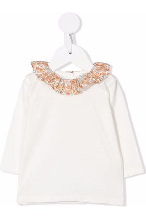 BONPOINT Peter-pan collar long-sleeve T-shirt