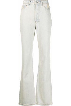 12 STOREEZ Women Straight - Long-straight leg jeans